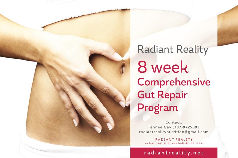 Radiant Reality | Offerings - Comprehensive Gut Repair Program