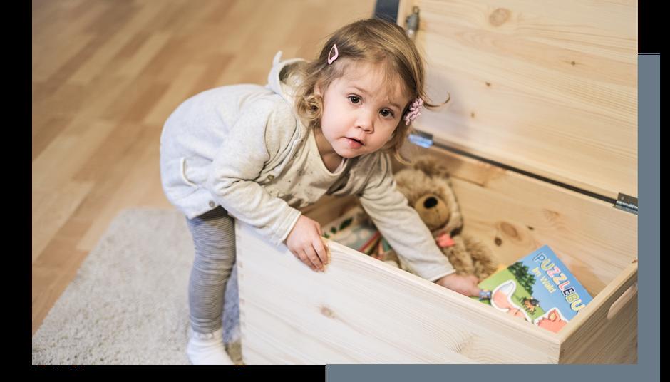 Aufbewahrungsbox für Kinder