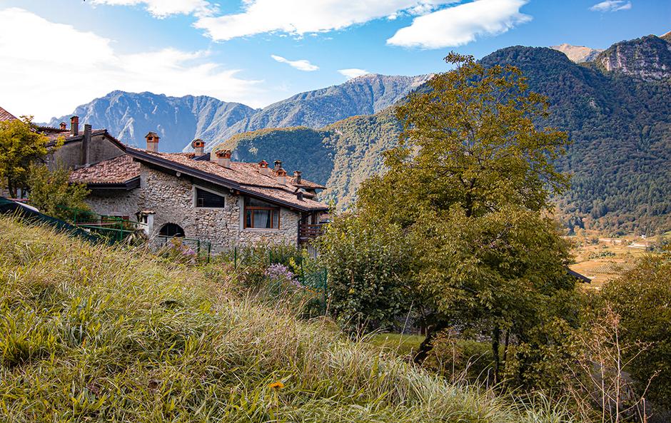 Dorf Canale Tennosee Gardaseeberge Urlaub am Gardasee