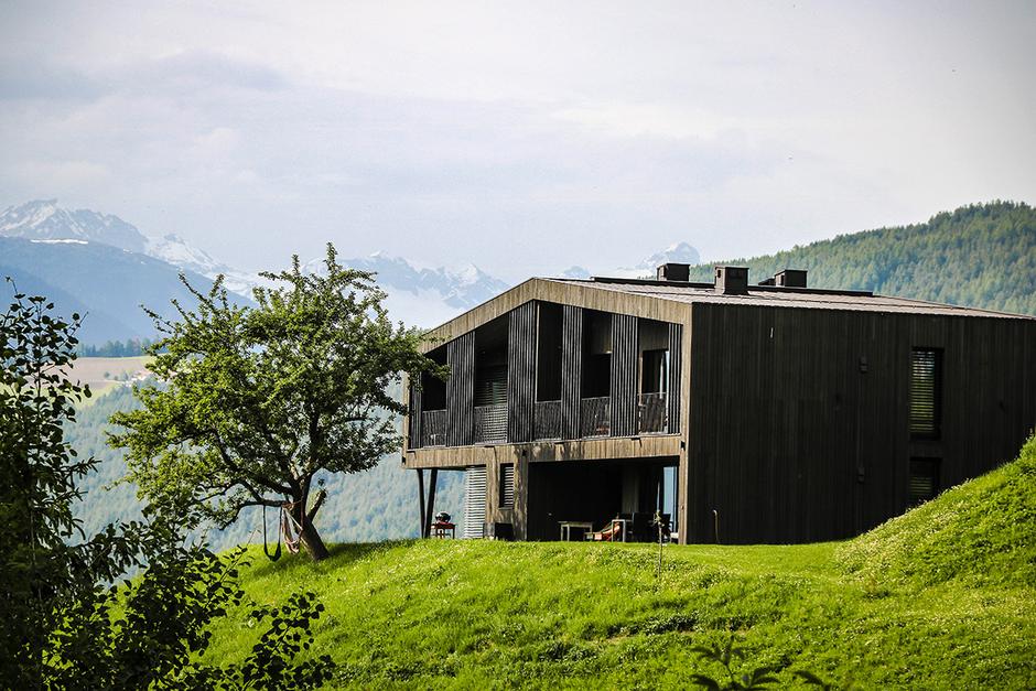 Ferienwohnung Südtirol Stockerhof Bruneck Bergurlaub mit Hund Wandern mit Hund Übernachten mit Hund