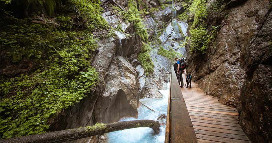 Wimmbachklamm Ramsau Berchtesgaden