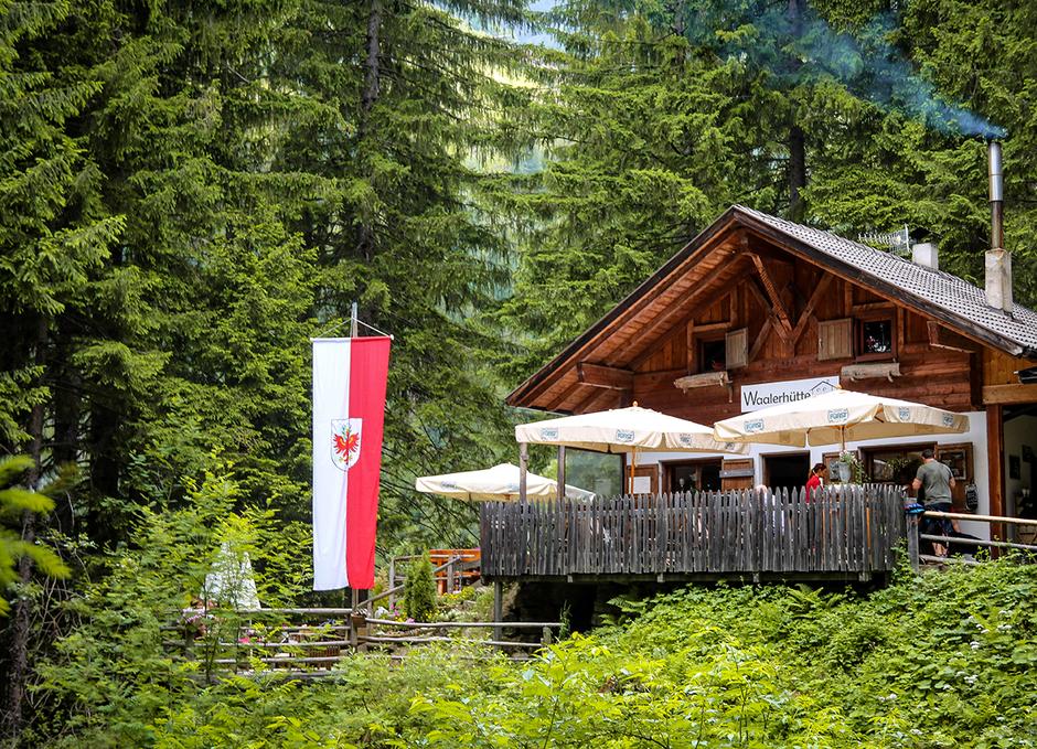 Waalerhütte Südtirol Waalwege