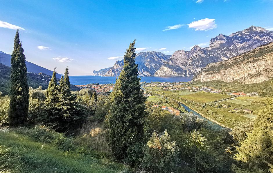 Gardasee Torbole Arco Riva Gardaseeberge Urlaub am Gardasee