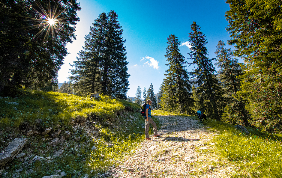 Kesselbergrunde Ammergauer Alpen
