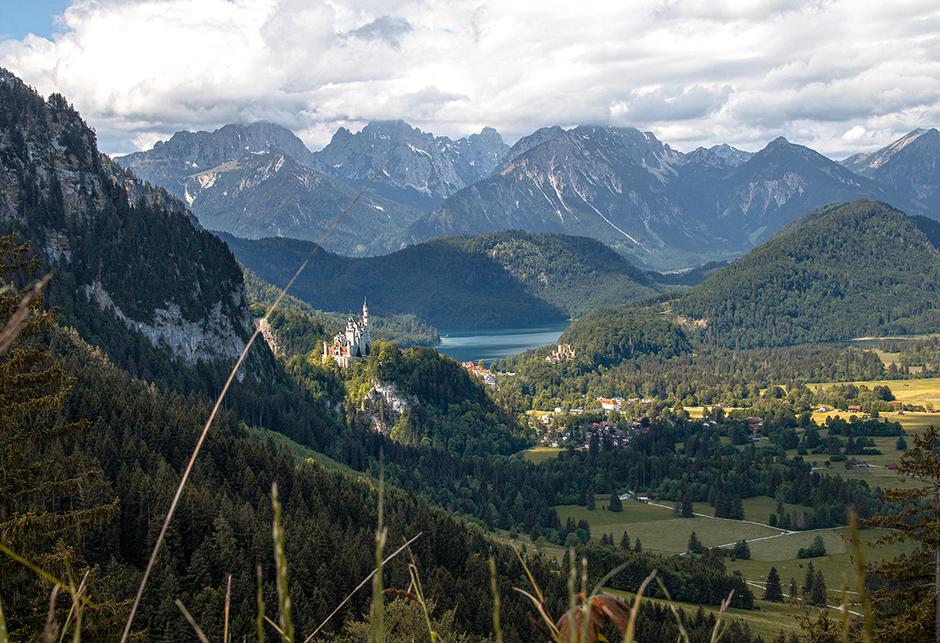 Schutzengelweg Tegelberg Füssen Neuschwanstein, Wandern in Bayern, Wandern mit Hund, Urlaub mit Hund, Bergurlaub mit Hund