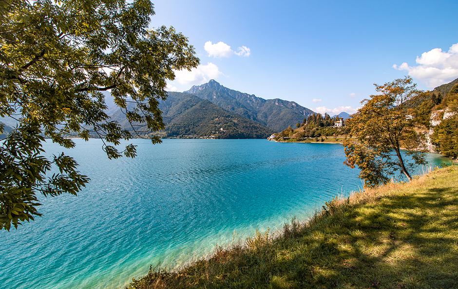 Ledrosee Tremalzo Trentino Ledrotal, Bergurlaub mit Hund, Wandern mit Hund, Urlaub mit Hund , Wandern am Gardasee