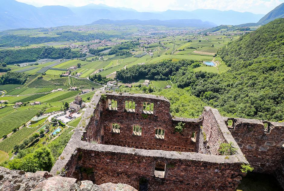 Burgenweg Südtirol Eppaner Burgenwanderung Boymont Etschtal
