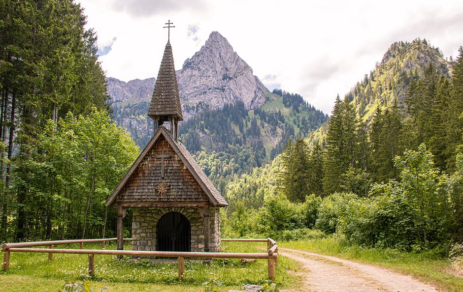 Wankerfleck Kenzenhütte Ammergauer Alpen Halblech