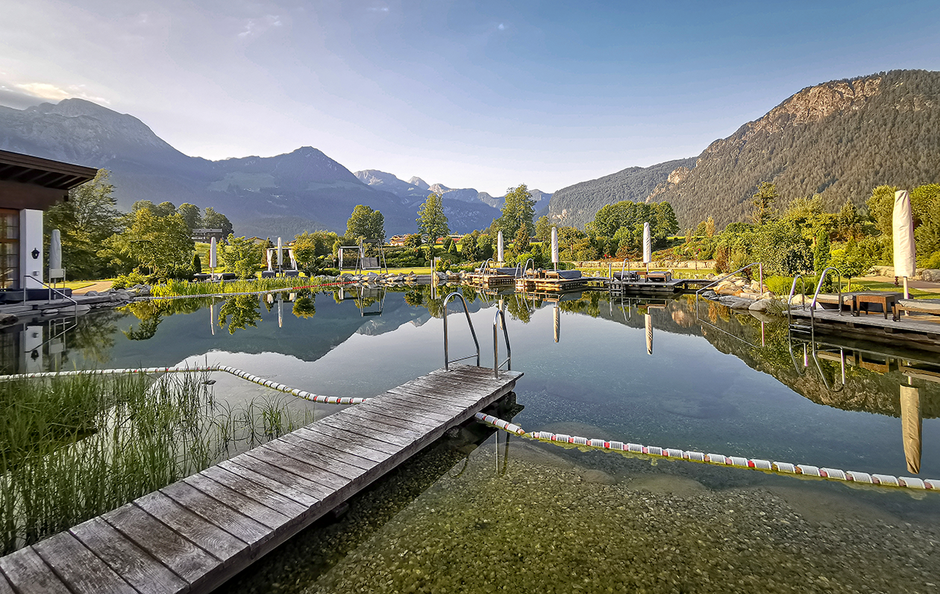 Hotel Zechmeisterlehen Berchtesgaden Urlaub in Bayern mit Hund Bergurlaub mit Hund Wellness Übernachten mit Hund