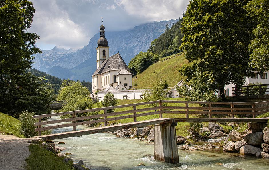 Bergsteigerdorf Ramsau Berchtesgaden, Wandern in Bayern, Wandern mit Hund, Urlaub mit Hund, Bergurlaub mit Hund