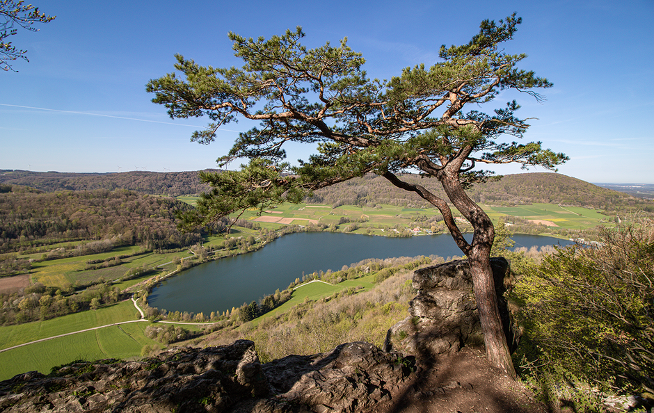 Wandern in Franken, Wandern Houbirg, Stausee Happurg , Wandern Hersbrucker Schweiz
