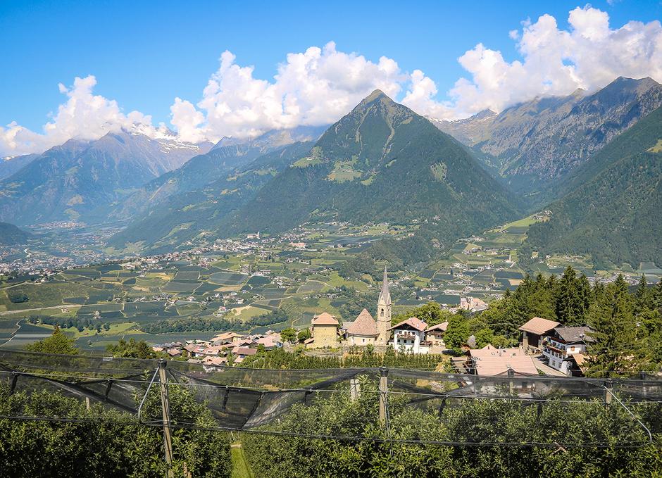 Schenna Meraner Land Südtirol