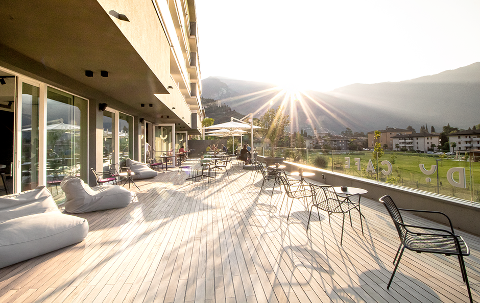 Hoody Hotel Arco Gardasee