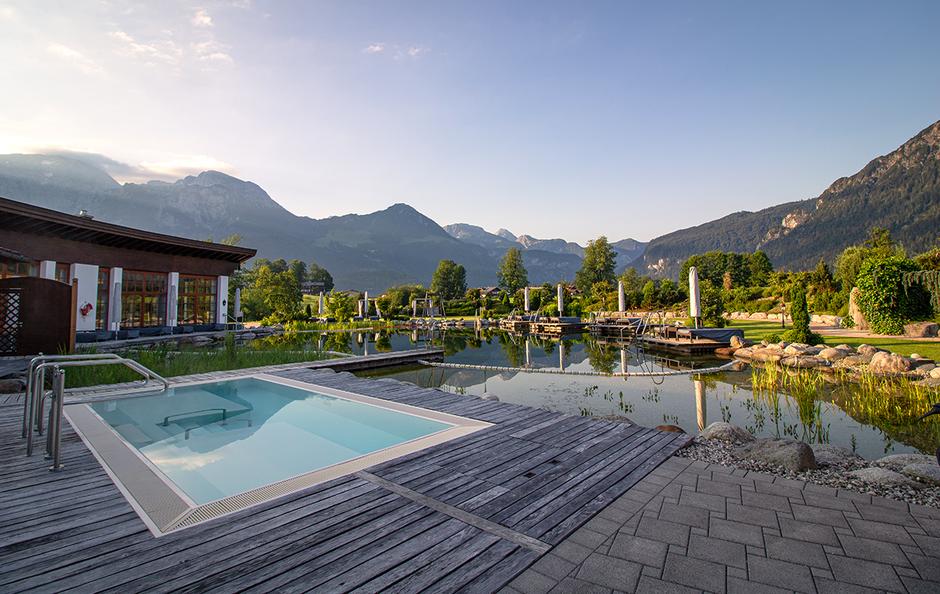 Hotel Zechmeisterlehen Berchtesgaden Urlaub in Bayern mit Hund Bergurlaub mit Hund Wellness Übernachten mit Hund Hundefreundliches Hotel