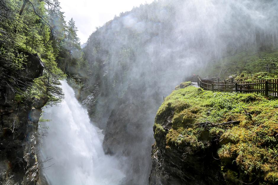 Reinbach Wasserfall Ahrntal Südtirol