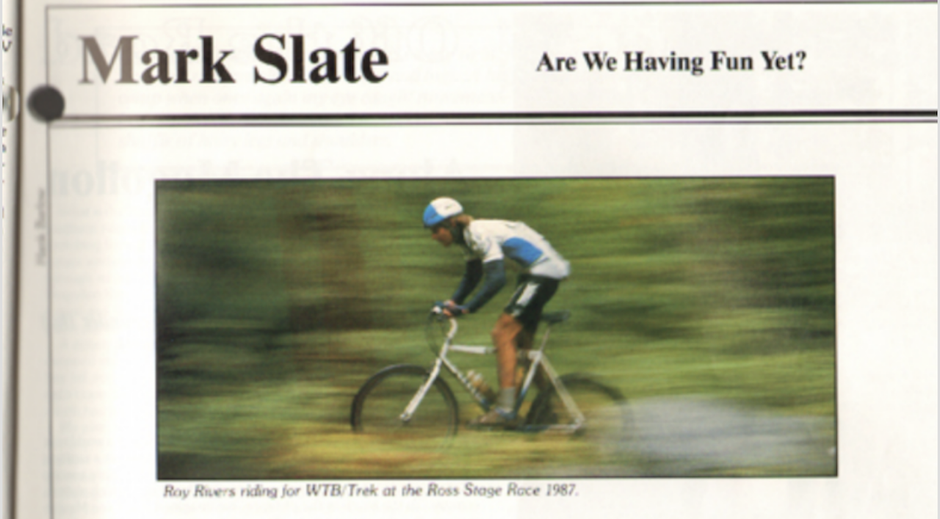 Source: Mountain Bike Magazine Dec 1987