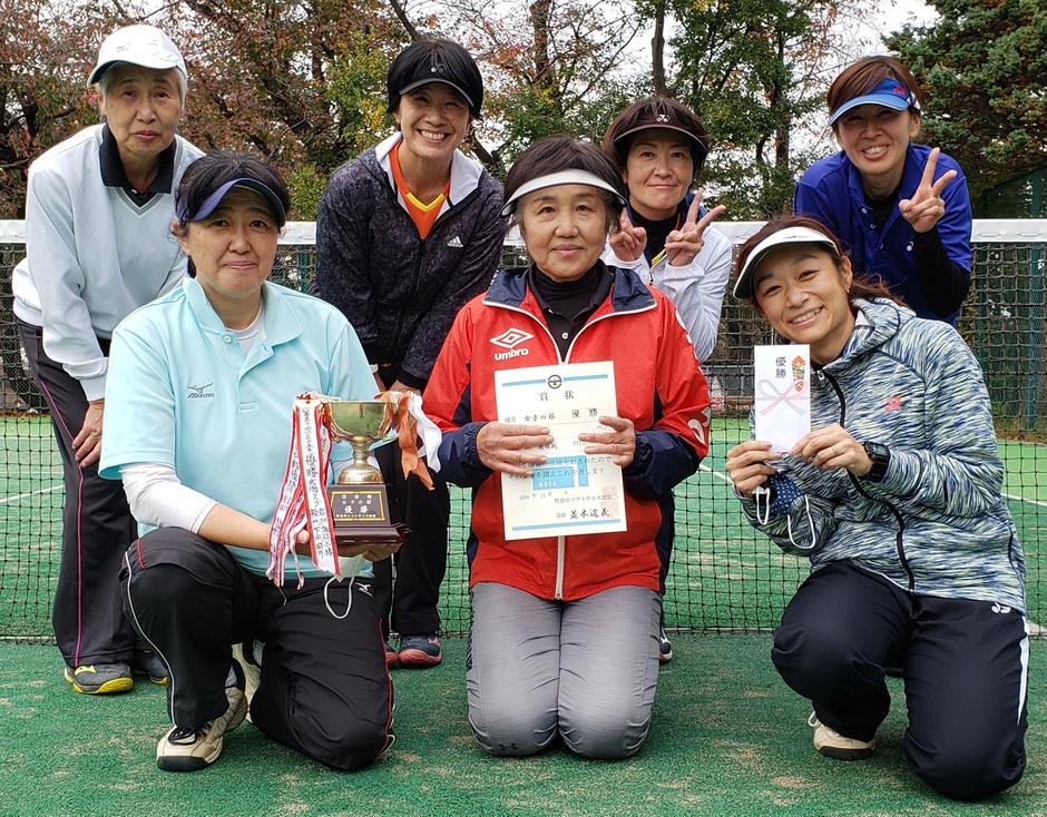 「女子の部」優勝:山崎クラブ