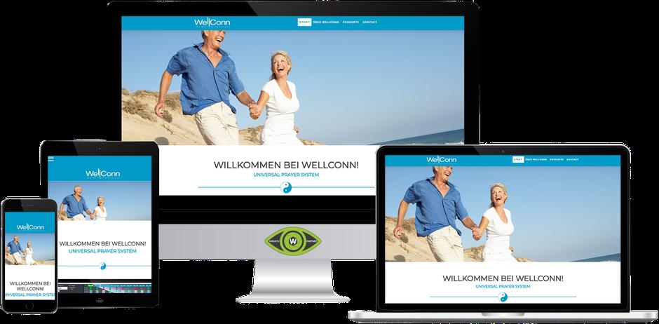 Kreativ-Partner AW (Albert Wiesinger) - Werbeagentur in Eferding (Oberösterreich) - Referenz Wellconn International München