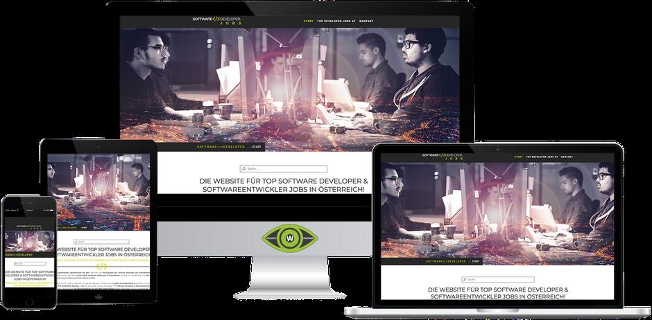 Kreativ-Partner AW (Albert Wiesinger) - Werbeagentur in Eferding (Oberösterreich) - Referenz Software Developer Jobs Österreich