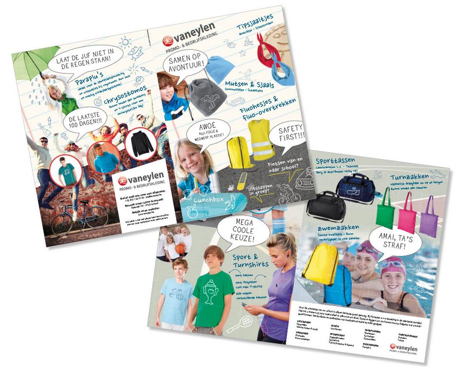 Van Bun Communicatie & Vormgeving - Grafische Vormgeving - Folder Vaneylen