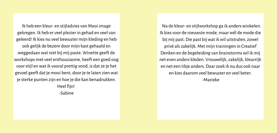 referenties mooi image styling