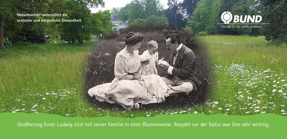Respekt vor der Natur war Großherzog Ernst Ludwig wichtig.