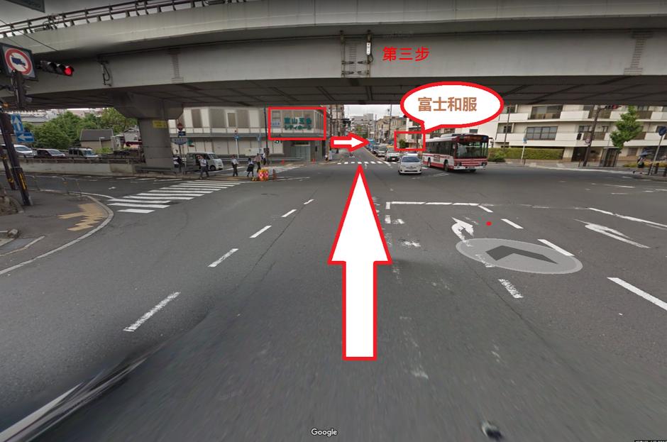 和服体验富士和服京都店行走路线