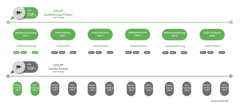 Leadershape by COTUR® - Qualifizierungs-Prozess Leader-Strategie