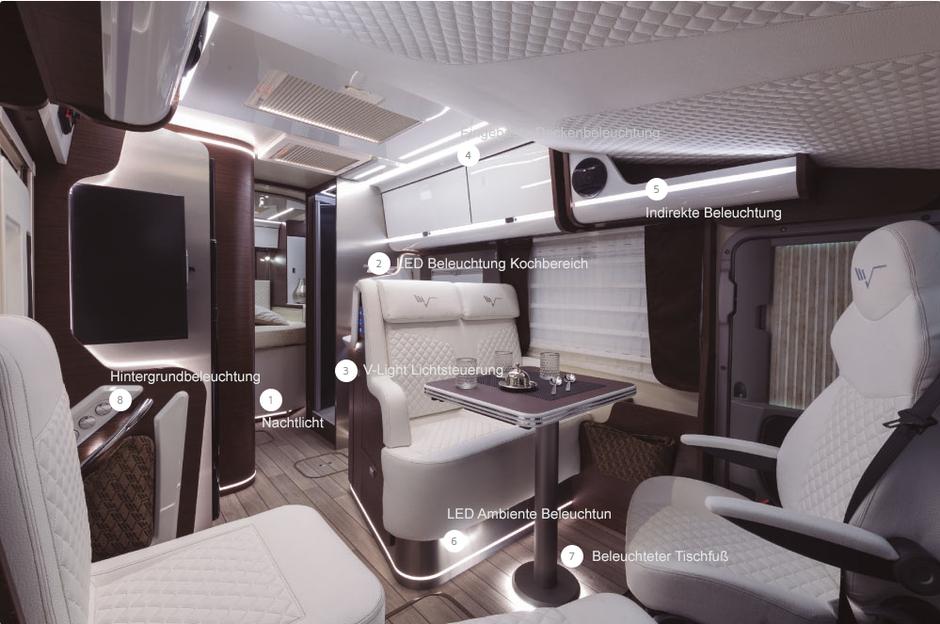Beleuchtung K-Yacht Tekno Design