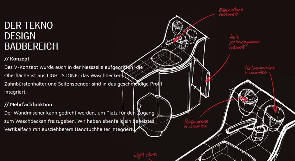 Badbereich K-Yacht Tekno Design