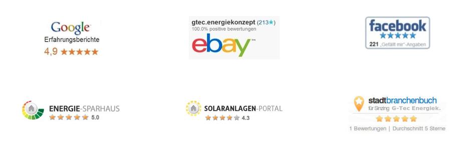 Referenzen Photovoltaik, Solaranlagen, Solarfirma in Regensburg, Cham, Landshut, Schwandorf, Straubing, Weiden