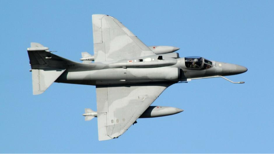 """A4-R """"Fighting Hawk"""" della FAA  (©Jorge Alberto Leonardi)"""