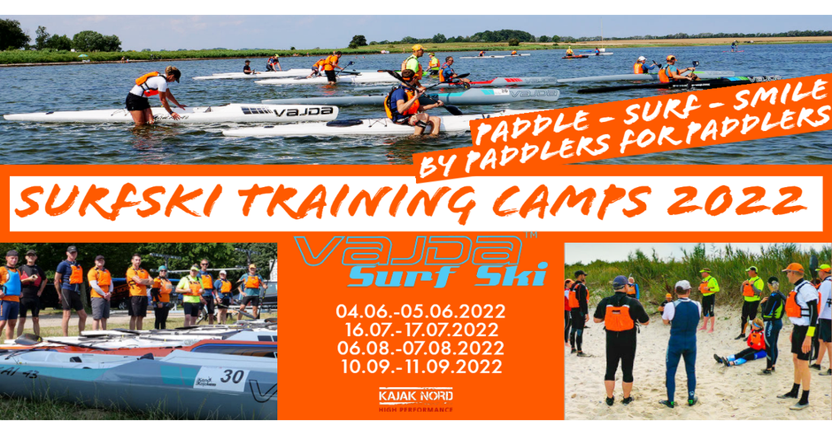 STC Surfski Training Camps 2021 Deutschland Ostsee Termine Anmeldung Registrierung, Vajda Kajak Nord