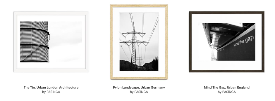 Framed PASiNGA Photographic Art Prints