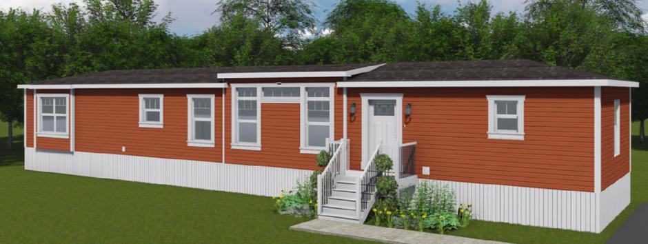 modern mini home