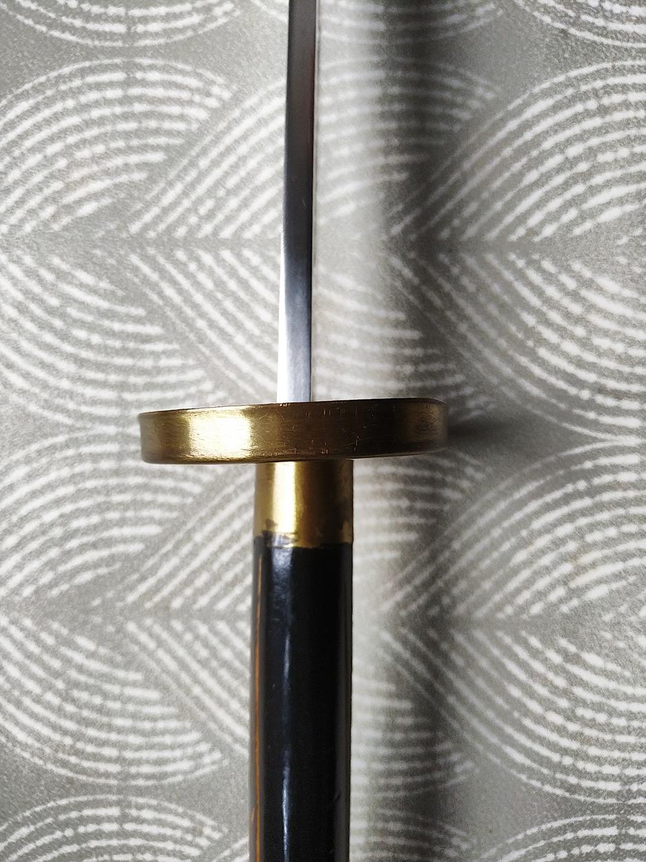 garde de sabre chinois (dao) à lame rigide