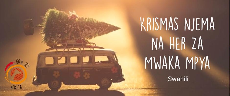 Weihnachten in Afrika, Afrika Reisen