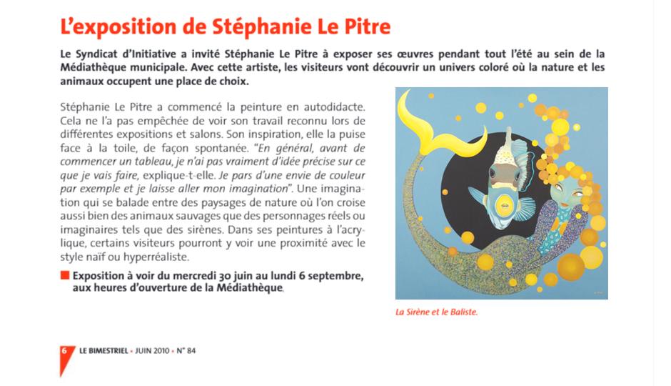 exposition artiste peintre nantes