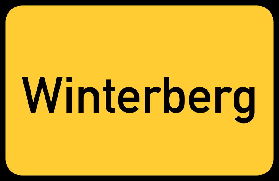 Ortseingangsschild Winterberg