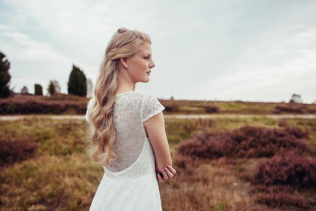 Spitzen Brautkleider im Vintage Stil