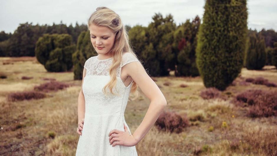 Brautkleid Spitze, modern und mit einem Hauch von Vintage