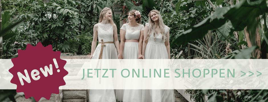 elementar Brautmode jetzt neu im Online Shop