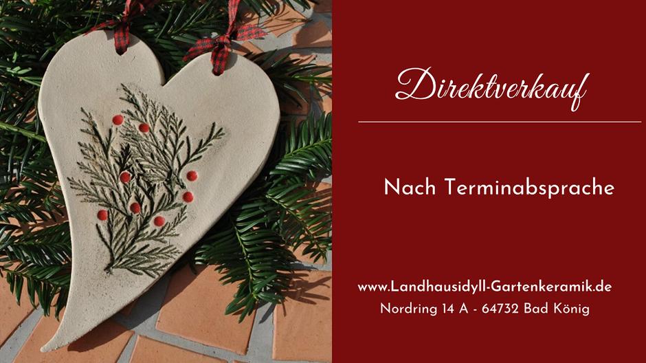 Landhausidyll-Gartenkeramik Direktverkauf in Bad König
