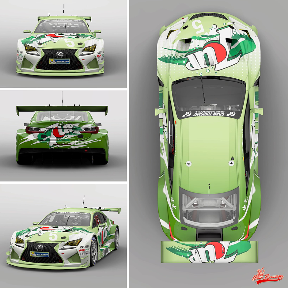 "Lexus RC F prototyp Mod. 16 ""7up"" by Your Revenge"