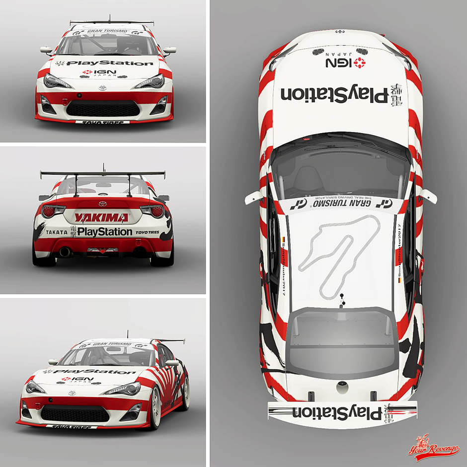"Toyota 86 ""Japan"" by Your Revenge"