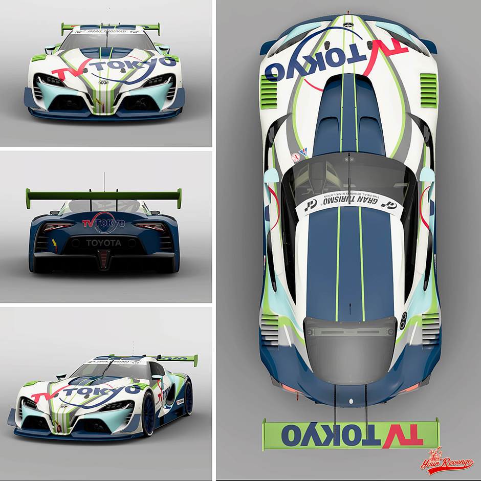 "Toyota FT-1 VGT ""TV Tokyo"" by Your Revenge"