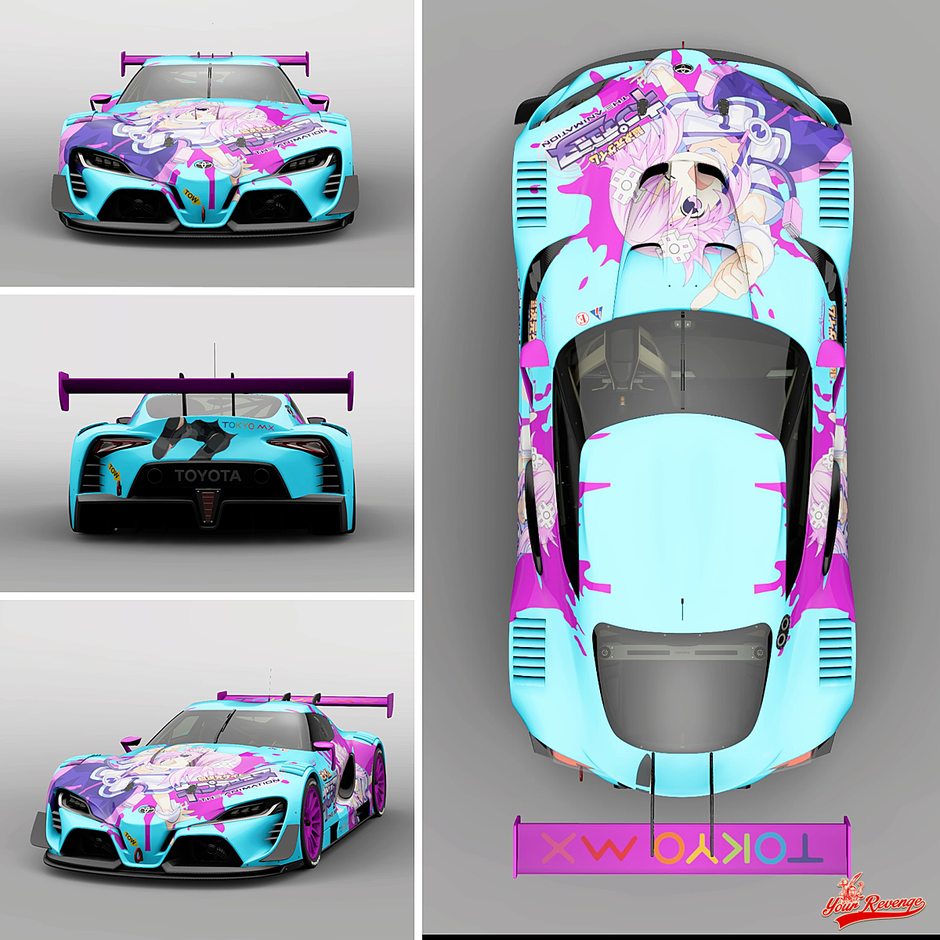 "TOYOTA FT-1 VGT ""ANIME"" by Your Revenge"