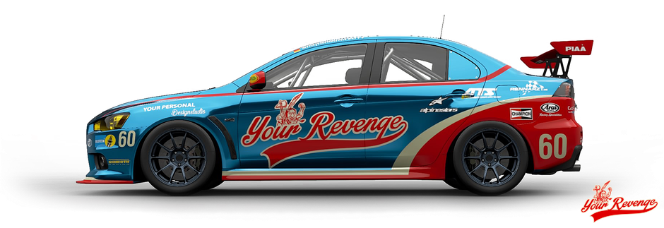 "Mitsubishi Lancer Evolution Final Edition ""Your Revenge"" by Your Revenge"