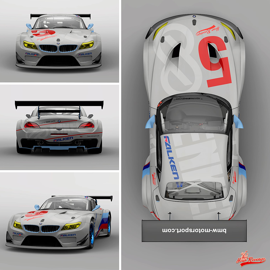 "BMW Z4 GT3 MOD. 11 ""ENKEI"" by Your Revenge"