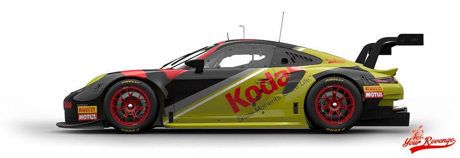 "Porsche 911 RSR Mod. 17 ""Kodak"" by Your Revenge"